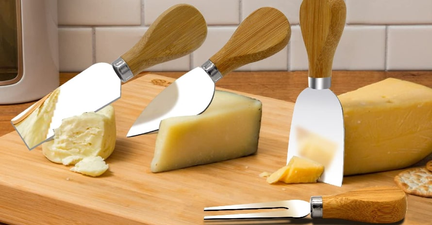Freehawk 4 Pieces Set Cheese Knives